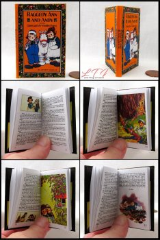 RAGGEDY ANNE AND ANDY THE CAMEL WITH THE WRINKLED KNEES Illustrated Readable Miniature Scale Book