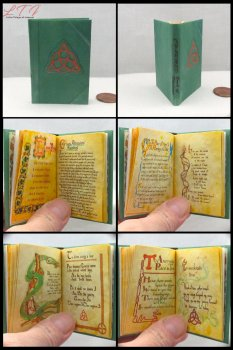CHARMED BOOK OF SHADOWS Illustrated Readable Miniature Scale Book