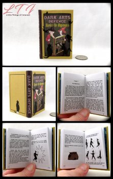 DARK ARTS DEFENSE Illustrated Readable Miniature Scale Book