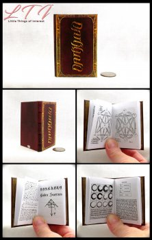 DARKHOLD Illustrated Readable Miniature Scale Book