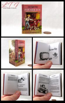 FARMER BOY Illustrated Readable Miniature Scale Book