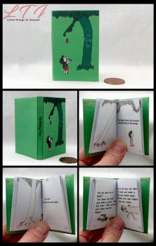 THE GIVING TREE Illustrated Readable Miniature Scale Book