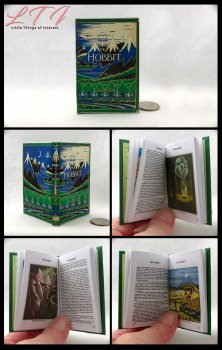 THE HOBBIT Illustrated Readable Miniature Scale Book