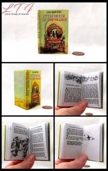 LITTLE HOUSE ON THE PRAIRIE Illustrated Readable Miniature Scale Book