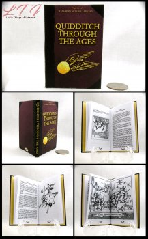QUIDDITCH Through The Ages Illustrated Readable Miniature Scale Book