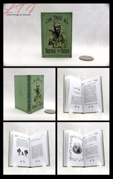 TALE OF BEEDLE THE BARD Illustrated Readable Miniature Scale Book