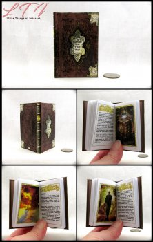 THE HISTORY OF THE TIME WAR Illustrated Readable Miniature Scale Book