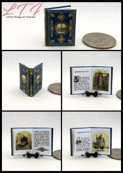 ABBEYS AND CASTLES Miniature One Inch Scale Illustrated Book