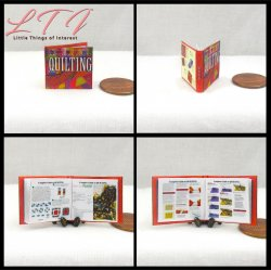 COMPLETE GUIDE TO QUILTING Miniature One Inch Scale Illustrated Book