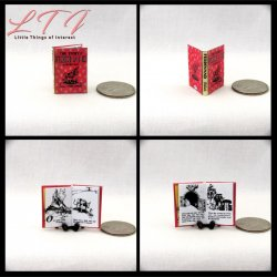 FERDINAND Miniature Scale Readable Illustrated Book