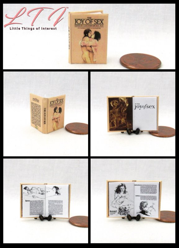 ALICE IN WONDERLAND Miniature Book Readable Illustrated 1:12 Scale Book