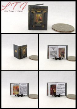 A LITTLE PRINCESS Miniatures One Inch Scale Illustrated Readable Book
