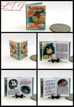 THE LITTLEST ANGEL Miniature One Inch Scale Illustrated Readable Book