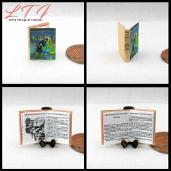 NANCY DREW MYSTERIES SET 3 Miniature One Inch Scale Readable Illustrated Books The Hidden Staircase Mystery at Lilac Inn The Secret of the Old Clock