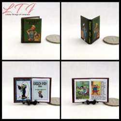 RAGGEDY SET 4 Miniature One Inch Scale Readable Illustrated Books Raggedy Ann Raggedy Andy Beloved Belindy Camel With Wrinkled Knees