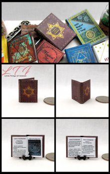 A BEGINNERS GUIDE TO TRANSFIGURATION Dollhouse Miniature Scale Readable Illustrated Book Popular Boy Wizard Potter