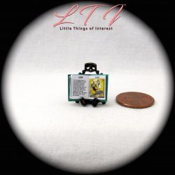 ALADDIN Dollhouse Miniature Half Inch Scale Illustrated Book