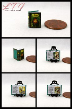 ALADDIN Dollhouse Miniature Scale Illustrated Book