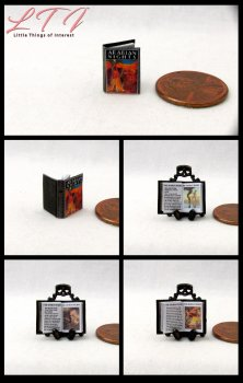 ARABIAN NIGHTS Dollhouse Miniature Scale Illustrated Book