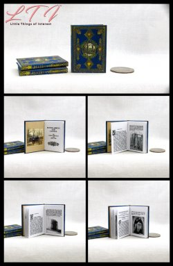ABBEYS AND CASTLES Miniature Playscale Readable Illustrated Book