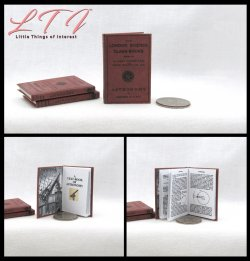 ASTRONOMY TEXTBOOK Miniature Playscale Readable Book