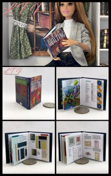 COMPETE GUIDE TO QUILTING Miniature Playscale Readable Illustrated Book