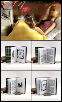 THE COMPLETE SHERLOCK HOLMES Miniature Playscale Readable Illustrated Book