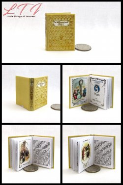 JANE AUSTEN BOOKS SET 4 Miniature Playscale Readable Illustrated Books Northanger Abbey Persuasion Pride Prejudice Sense Sensibility