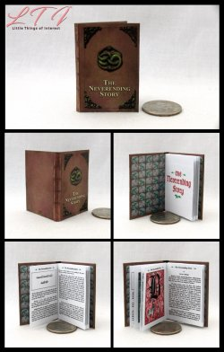 THE NEVERENDING STORY Miniature Playscale Readable Illustrated Book