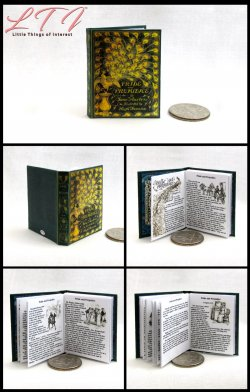 PRIDE AND PREJUDICE by Jane Austen Miniature Playscale Readable Illustrated Book