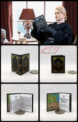THE PRINCESS BRIDE Miniature Playscale Readable Illustrated Book