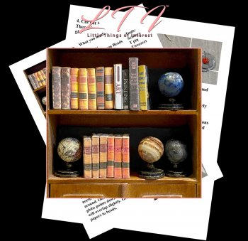 OLD WORLD GLOBES Tutorial in Miniature One Inch Scale PDF And Tutorial Download