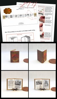ALCHEMY Download Pdf Book and Construction Tutorial for a Miniature One Inch Scale