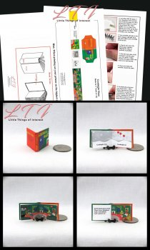 GOODNIGHT MOON Download Pdf Book and Construction Tutorial for a Miniature One Inch Scale Book
