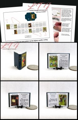 THE SECRET GARDEN Download Pdf Book and Construction Tutorial for a Miniature One Inch Scale Book